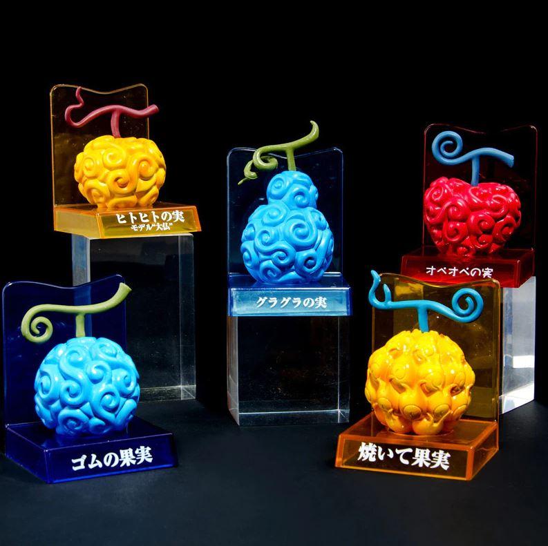 Figurines One Piece Fruits du Démon