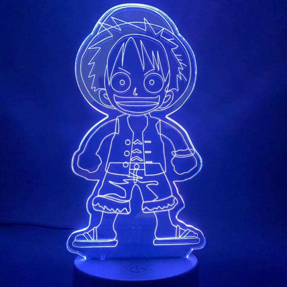 Lampe 3D One Piece Luffy Kid 2