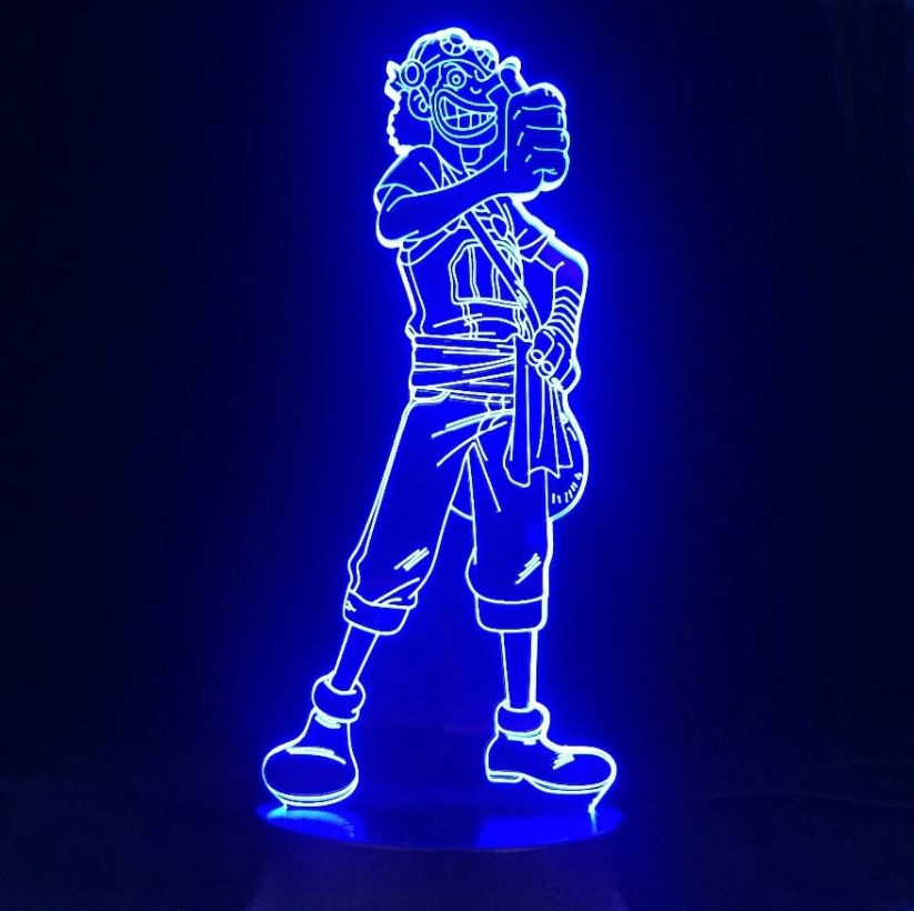 Lampe 3D One Piece Usopp