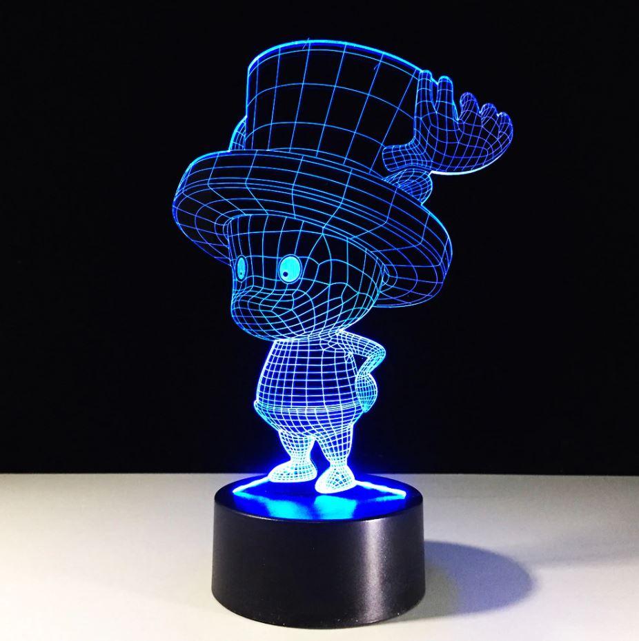 Lampe 3D One Piece Chopper