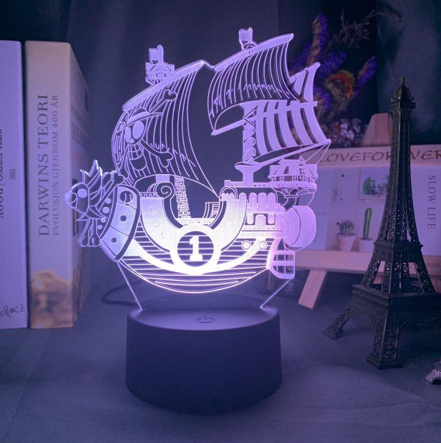 Lampe 3D One Piece Sunny