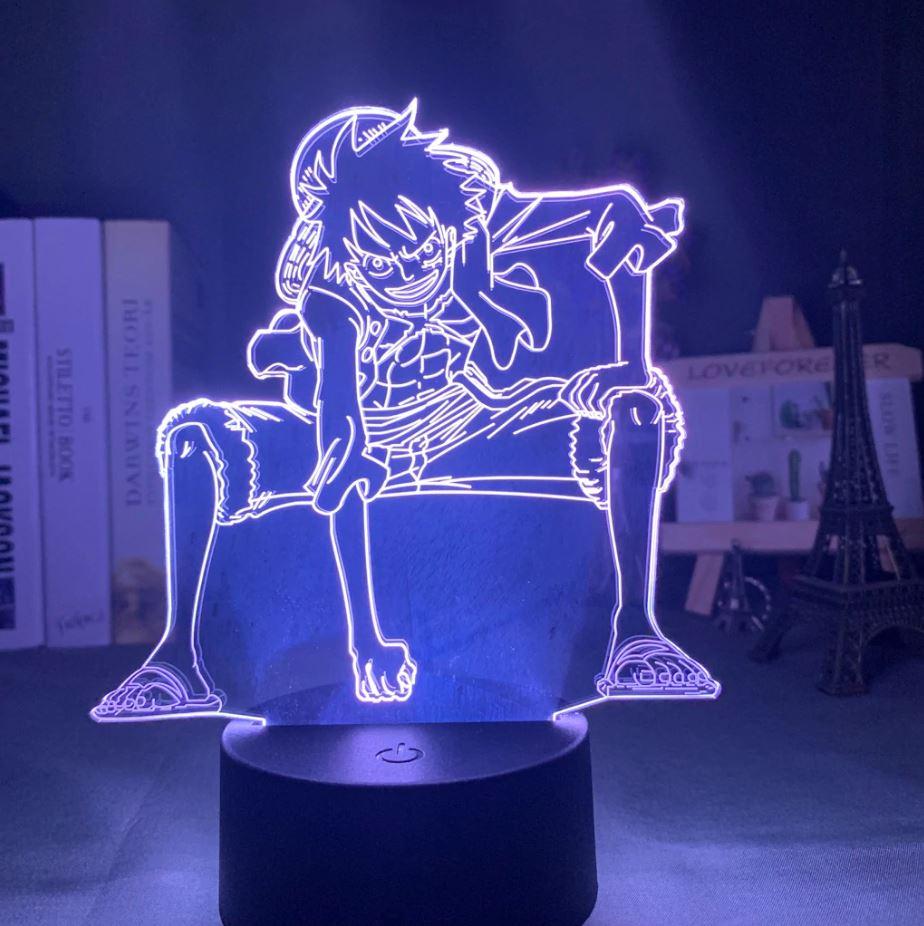 Lampe 3D One Piece Luffy Haki