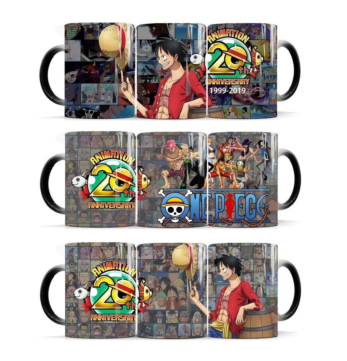 Mug One Piece Thermo-réactif 20th Anniversary