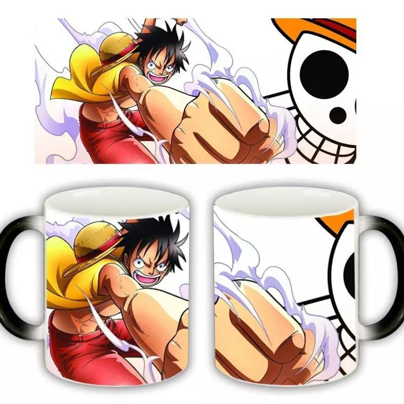 Mug One Piece Luffy Smoke