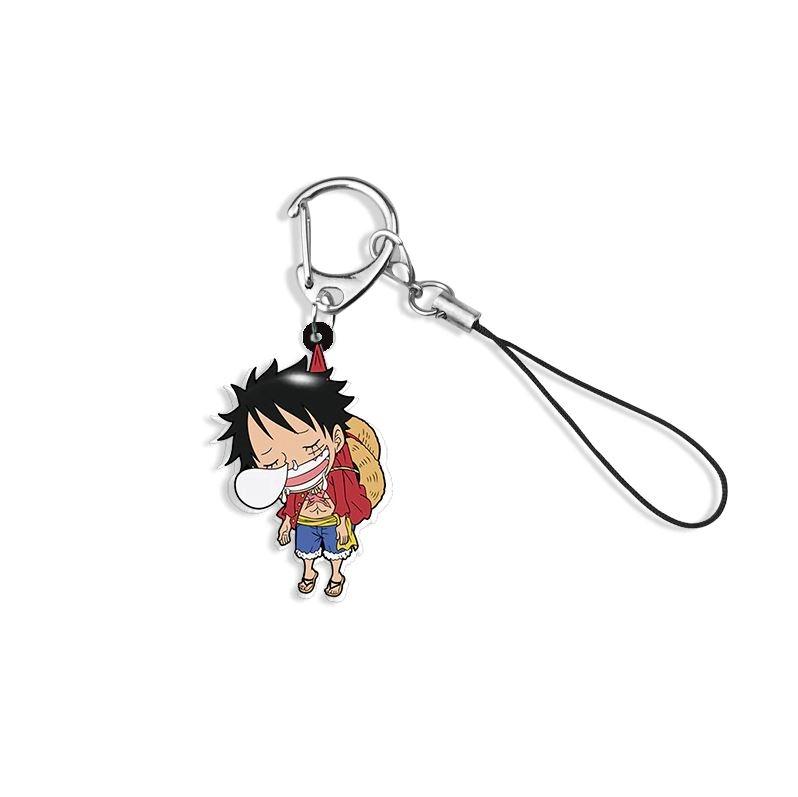 Porte-Clés One Piece Tiny Luffy Sleep