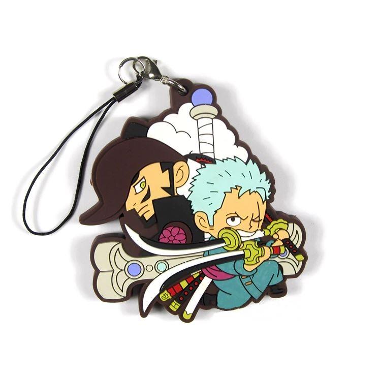 Porte-Clés One Piece Zoro & Mihawk