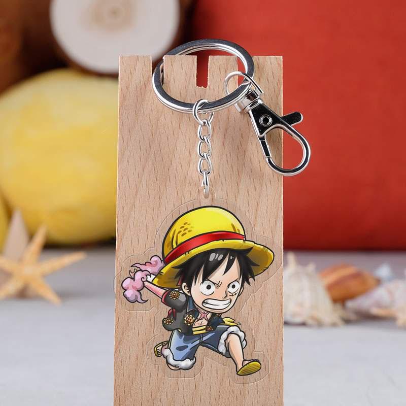 Porte-Clés One Piece Mugi Luffy
