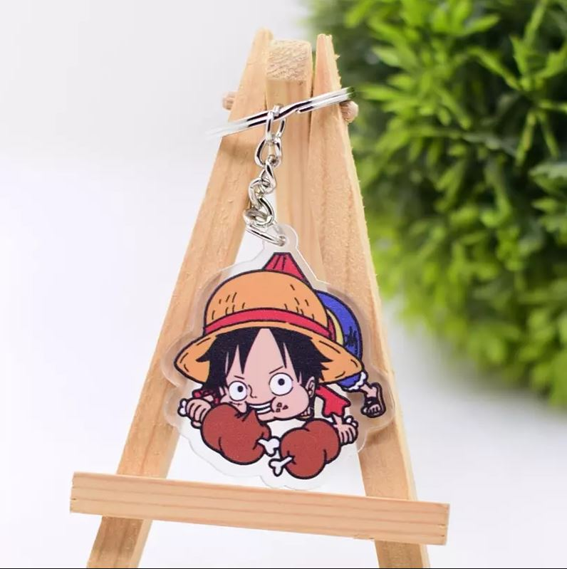 porte cles one piece rope monkey luffy 1