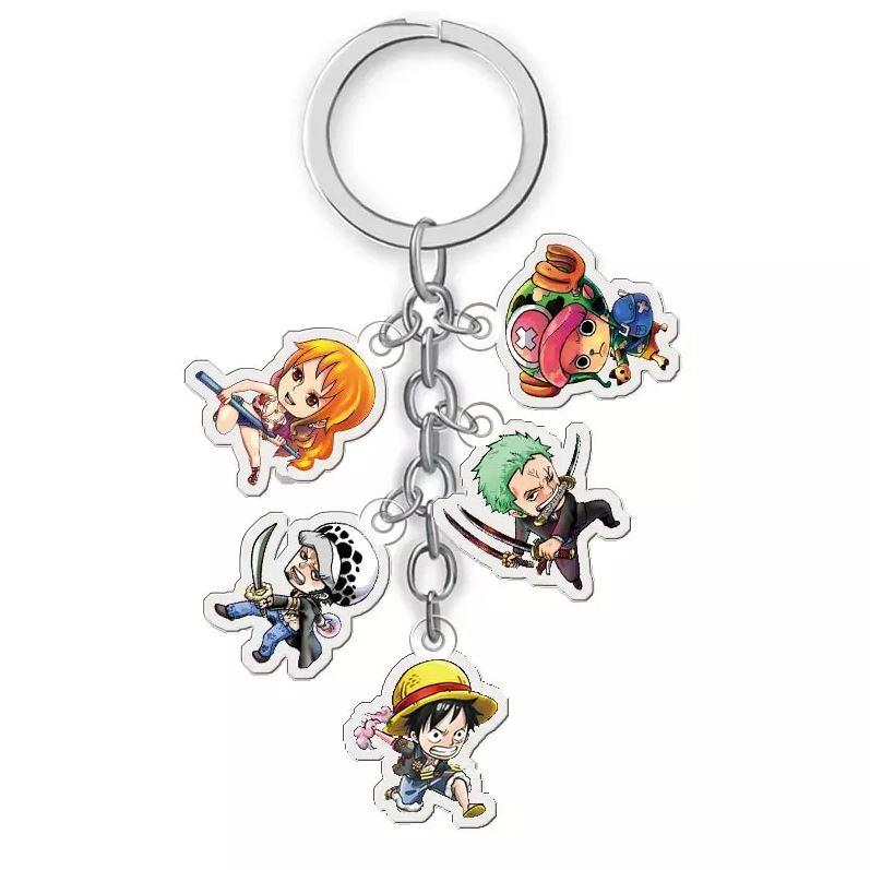 Porte-Clés One Piece 5 en 1