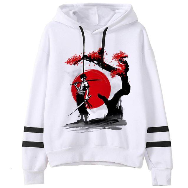 Sweatshirt One Piece Zoro Cherry Tree