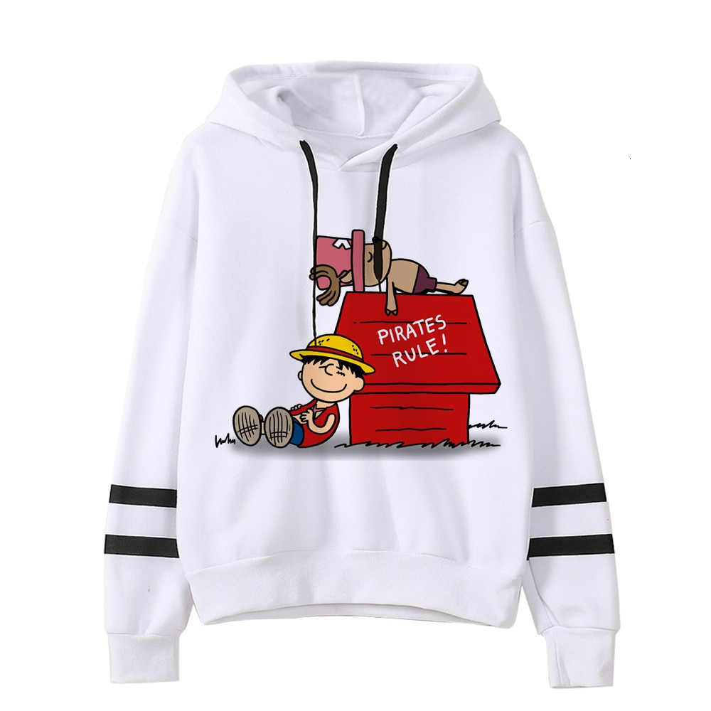 sweatshirt hoodie one piece pirates rule