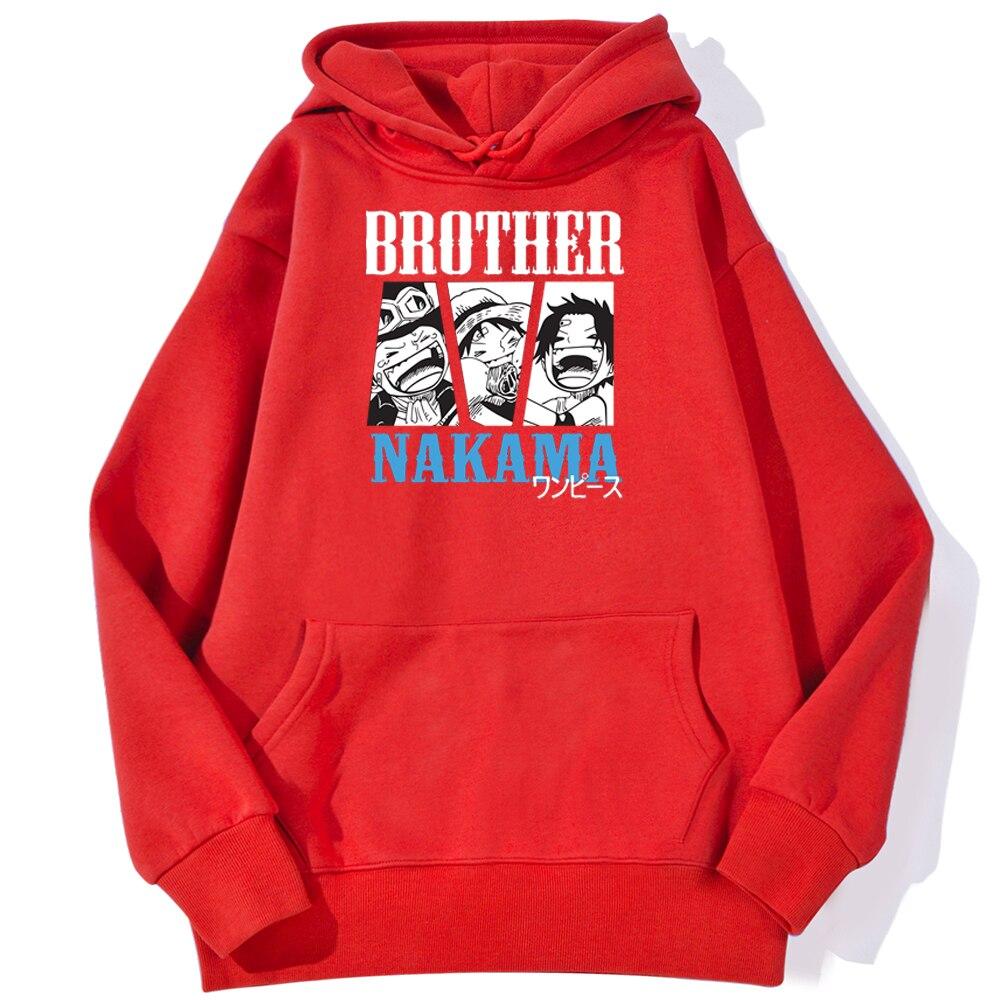 Sweatshirt One Piece Brother Nakama