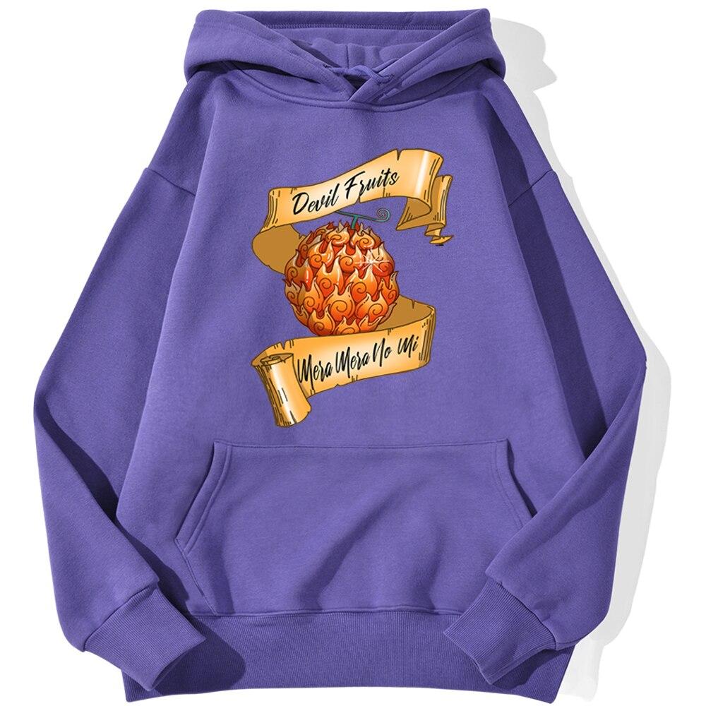 Sweatshirt One Piece Fruit Du Démon
