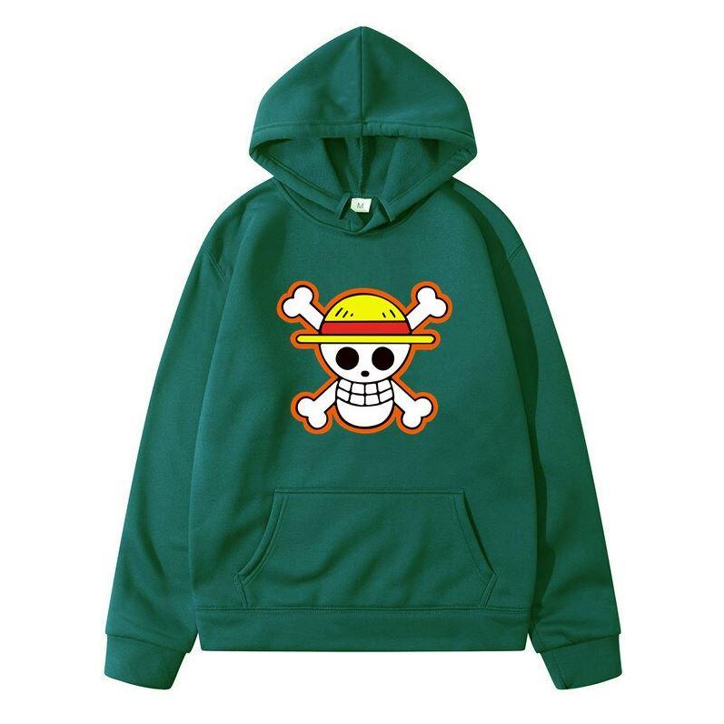 sweatshirt hoodie one piece logo vert