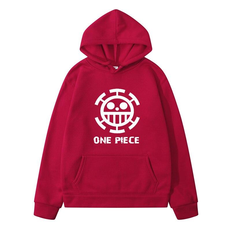 Sweatshirt One Piece Law Blanc