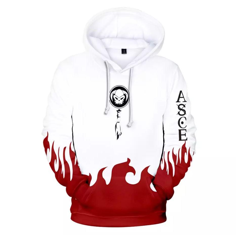 Sweatshirt One Piece Ace Fire