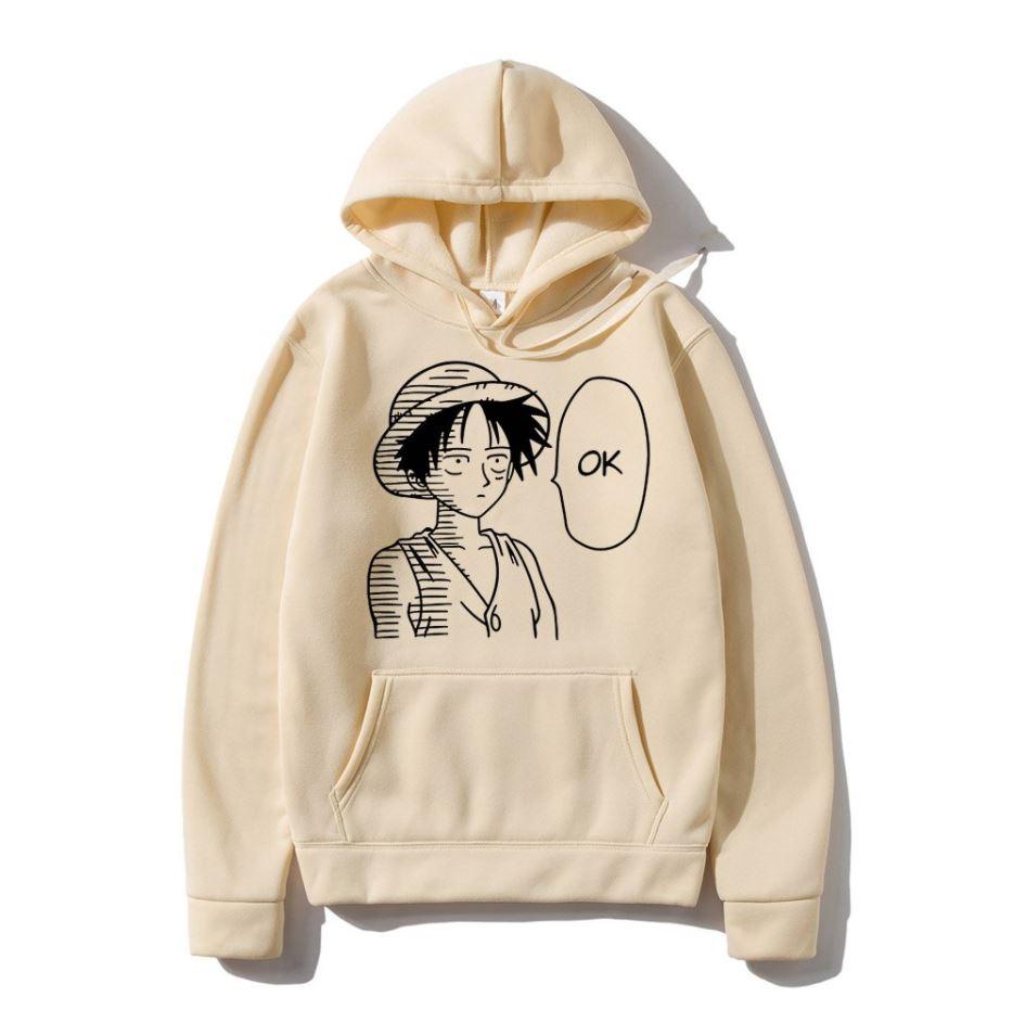 Sweatshirt One Piece Luffy OK