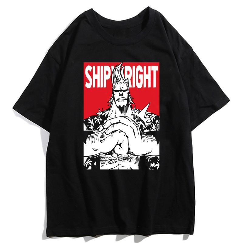 t shirt one piece crew franky