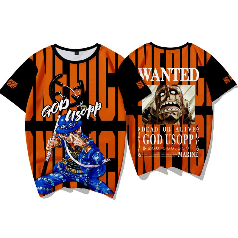 T-Shirt One Piece Wanted Usopp