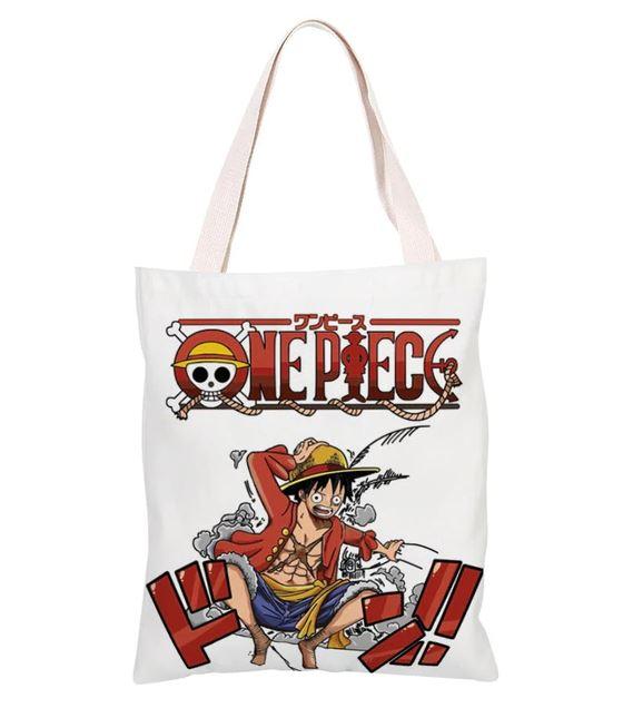 Sac de Shopping One Piece Luffy Smoke