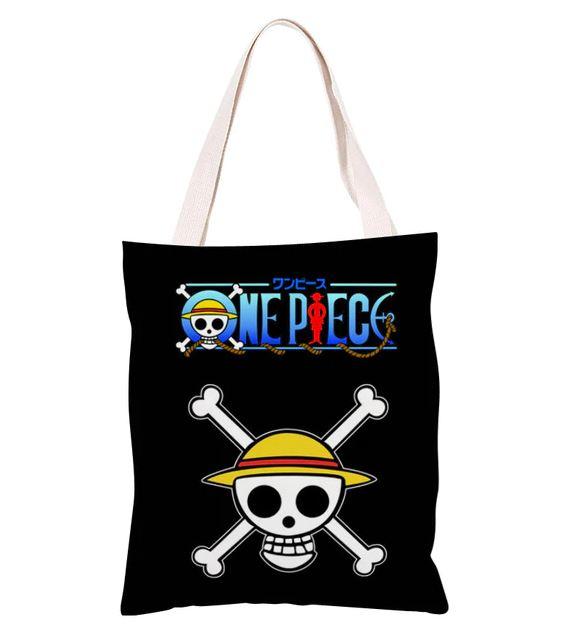 sac one piece shopping toile logo 1