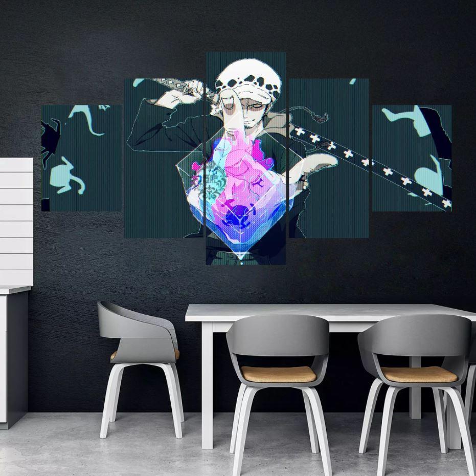 Tableau One Piece Law Heart