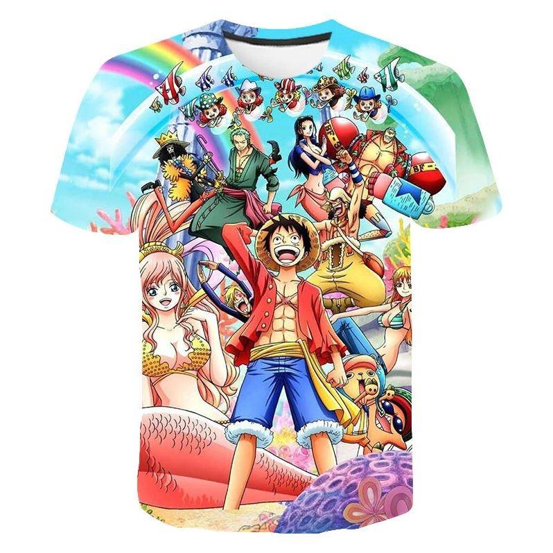 T-Shirt One Piece Mugiwara Shirahoshi