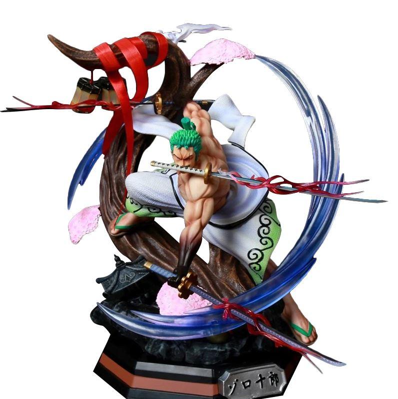 figurine one piece zoro wano santoryu 1