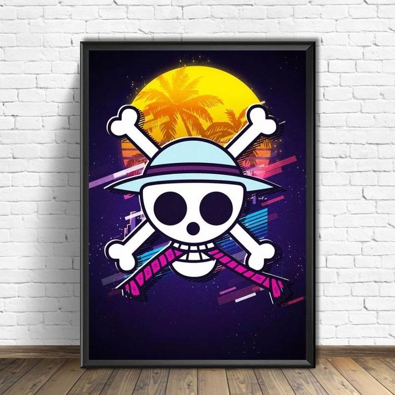 Tableau One Piece Logo Sunset