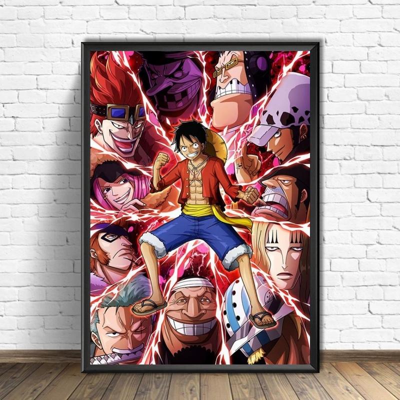 Tableau One Piece Supernovas