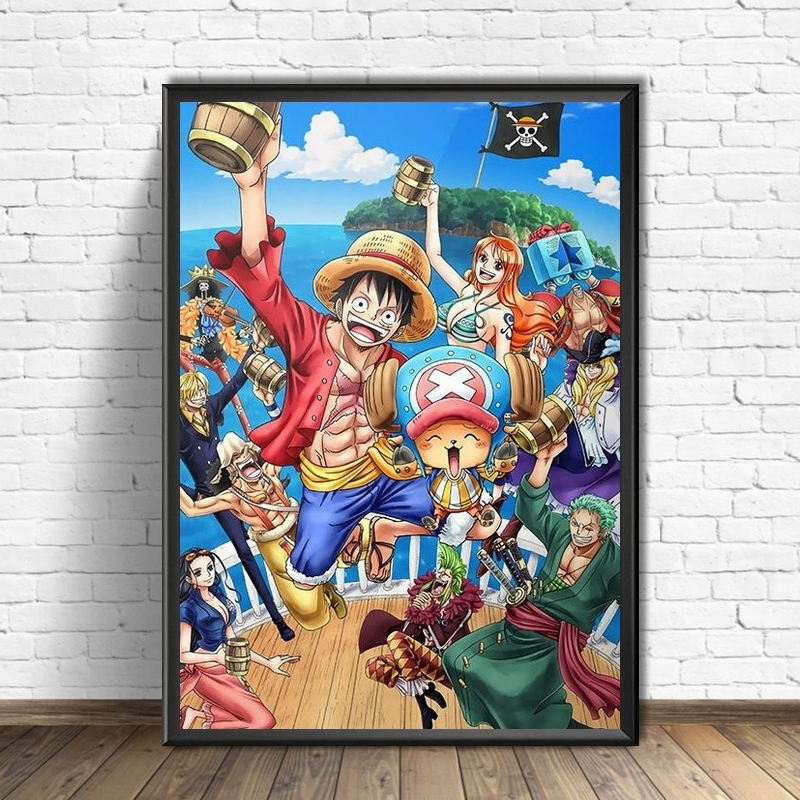 Tableau One Piece New Year