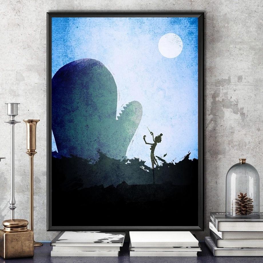 tableau toile one piece landscape brook laboon 4