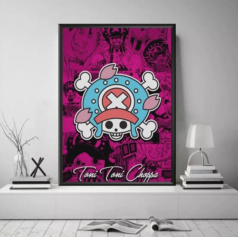 Tableau One Piece Jolly Roger Chopper