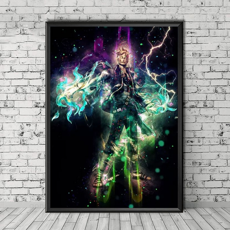 Tableau One Piece Sparks Marco