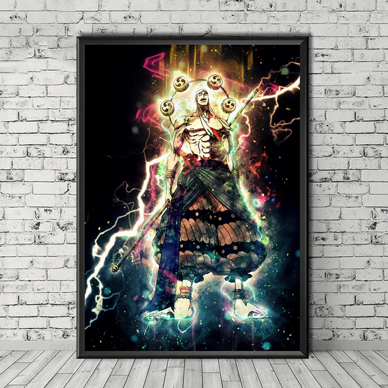 Tableau One Piece Sparks Enel