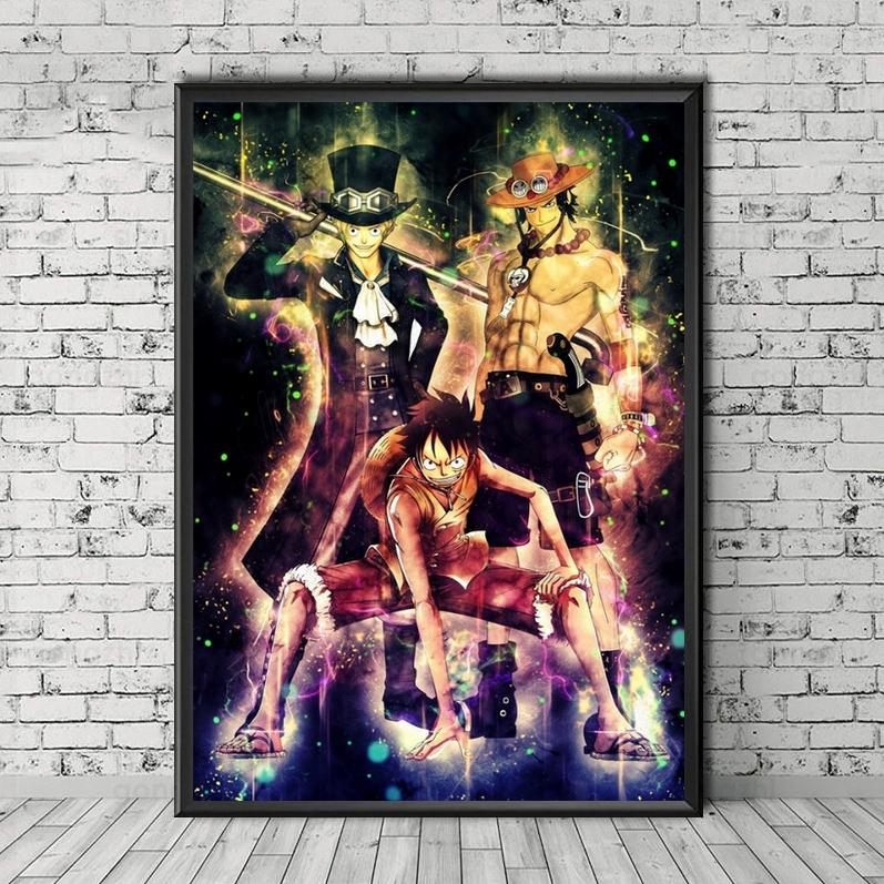 Tableau One Piece Sparks 3 Frères
