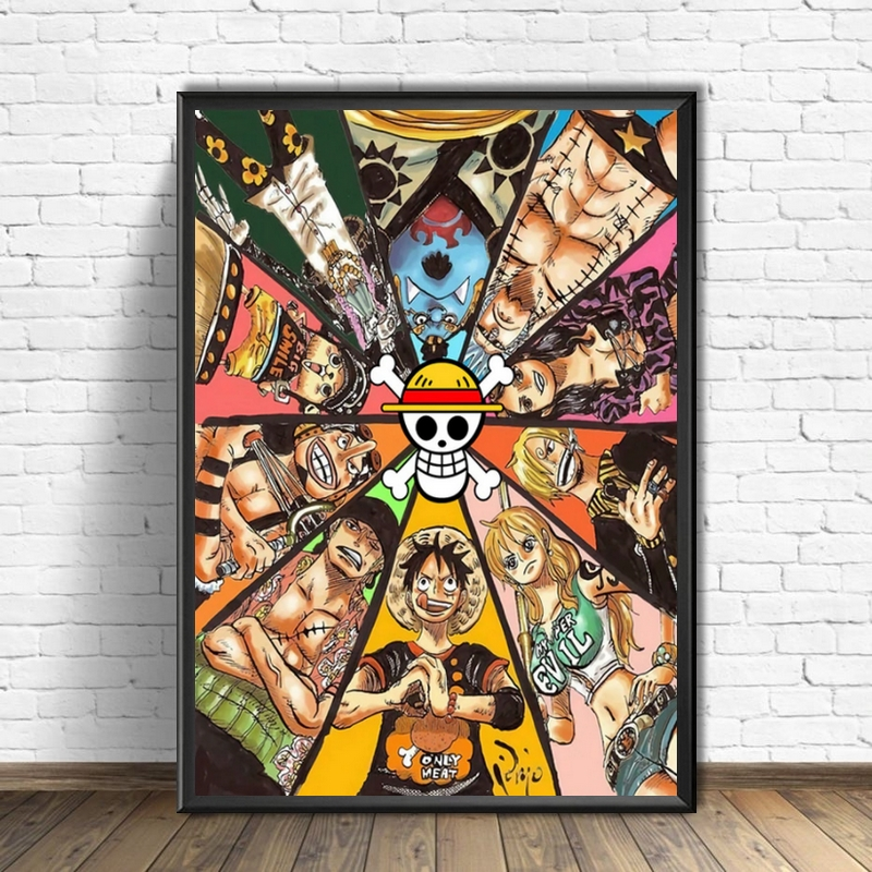 Tableau One Piece Les Mugiwara