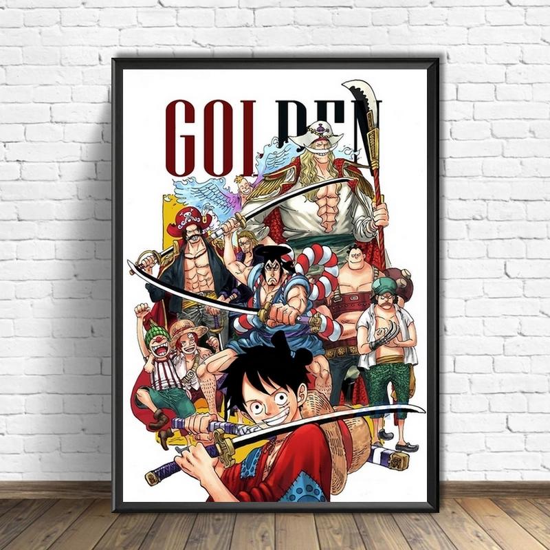 Tableau One Piece Flashback Oden
