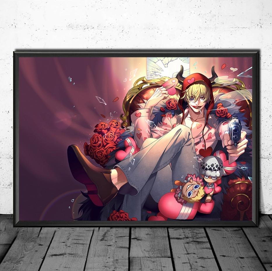 tableau toile one piece corazon 4