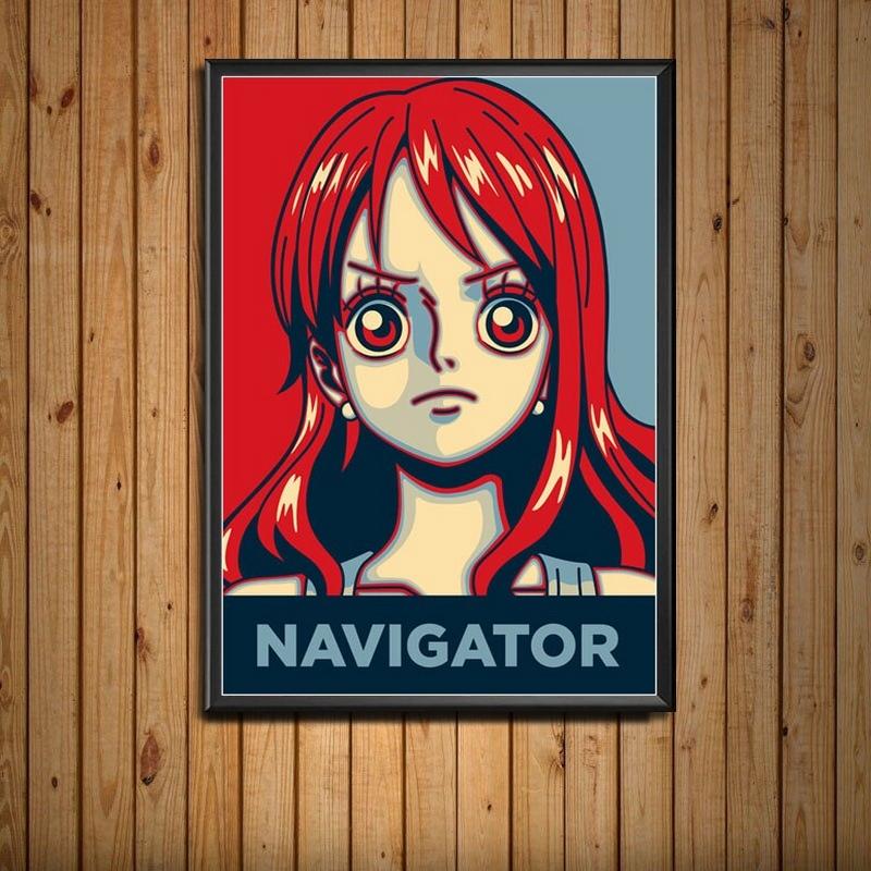 Tableau One Piece Portrait Nami