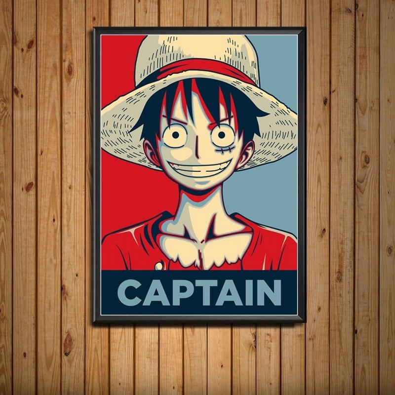 Tableau One Piece Portrait Monkey D. Luffy