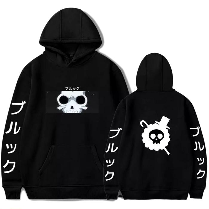sweatshirt one piece pirate brook noir