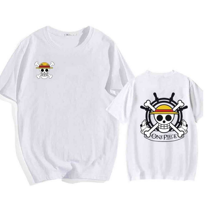 tshirt one piece helm barre thousand sunny blanc