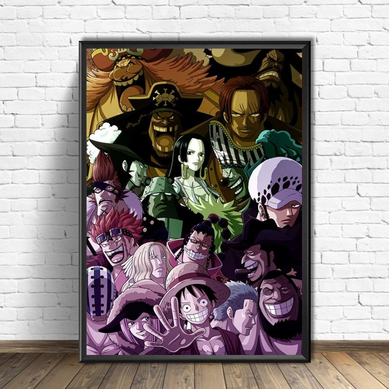 tableau toile one piece pire generation supernovae 3