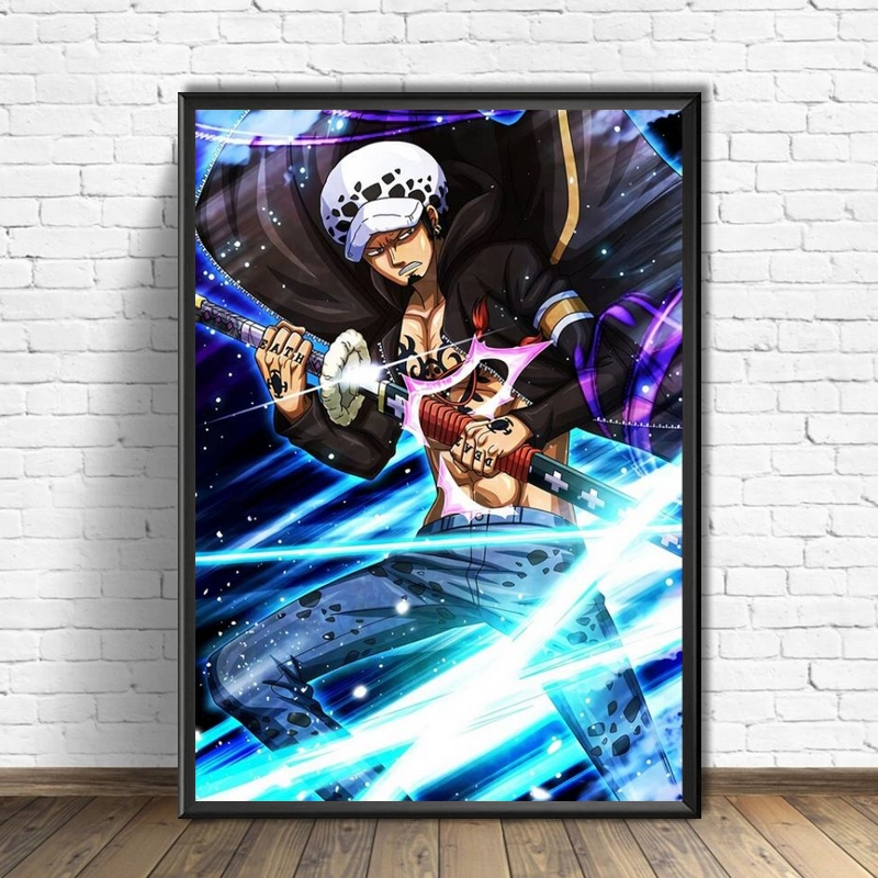 Tableau One Piece Law Sword