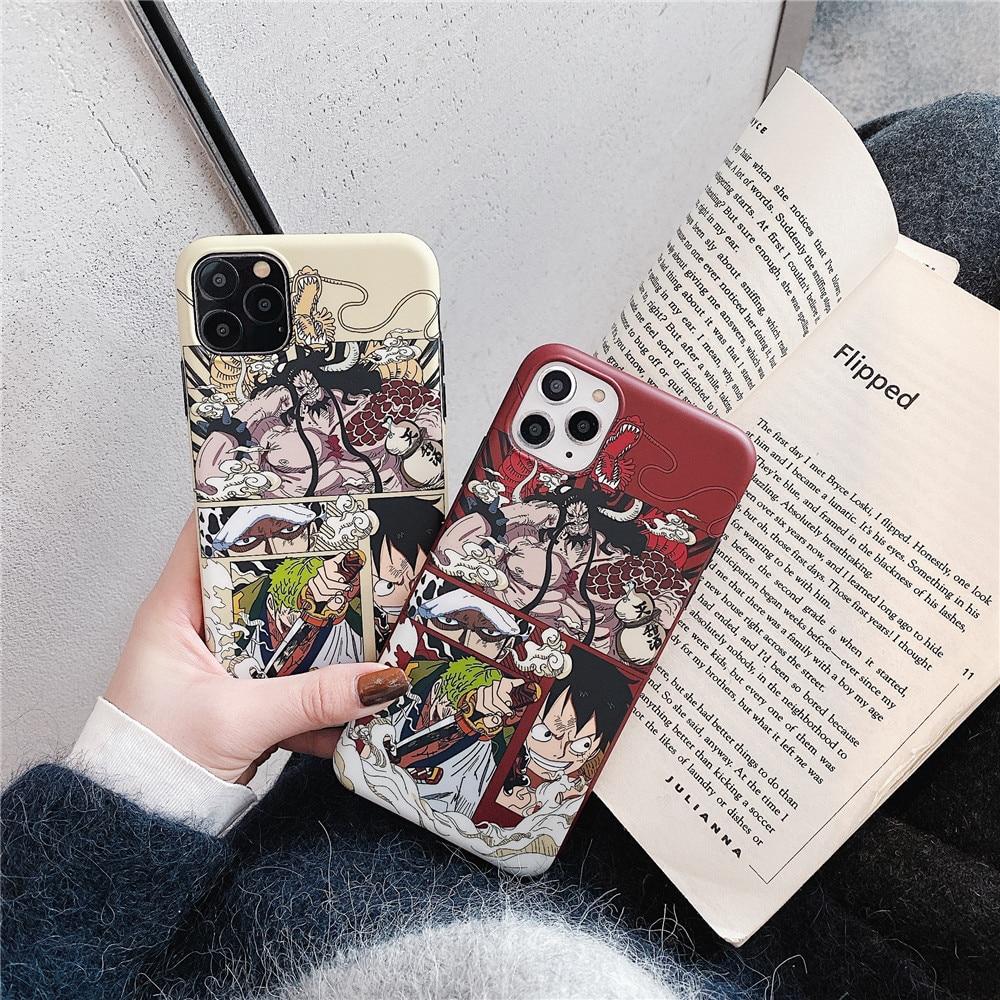 Coque iPhone One Piece Kaido Trio