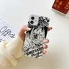 coque iphone one piece clear wanted luffy