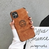 coque iphone one piece leather cuir logo