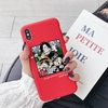 coque iphone one piece brothers luffy ace sabo rouge