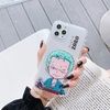 coque iphone one piece clear kids zoro